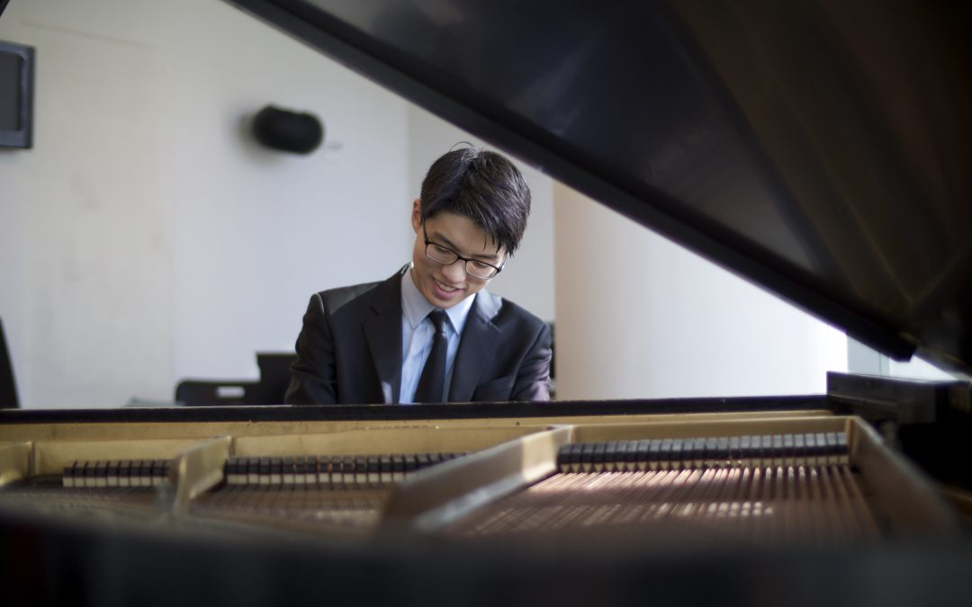 Glass Sellers' Beethoven Piano Prize Winner 2017 wins Gold Medal 2018