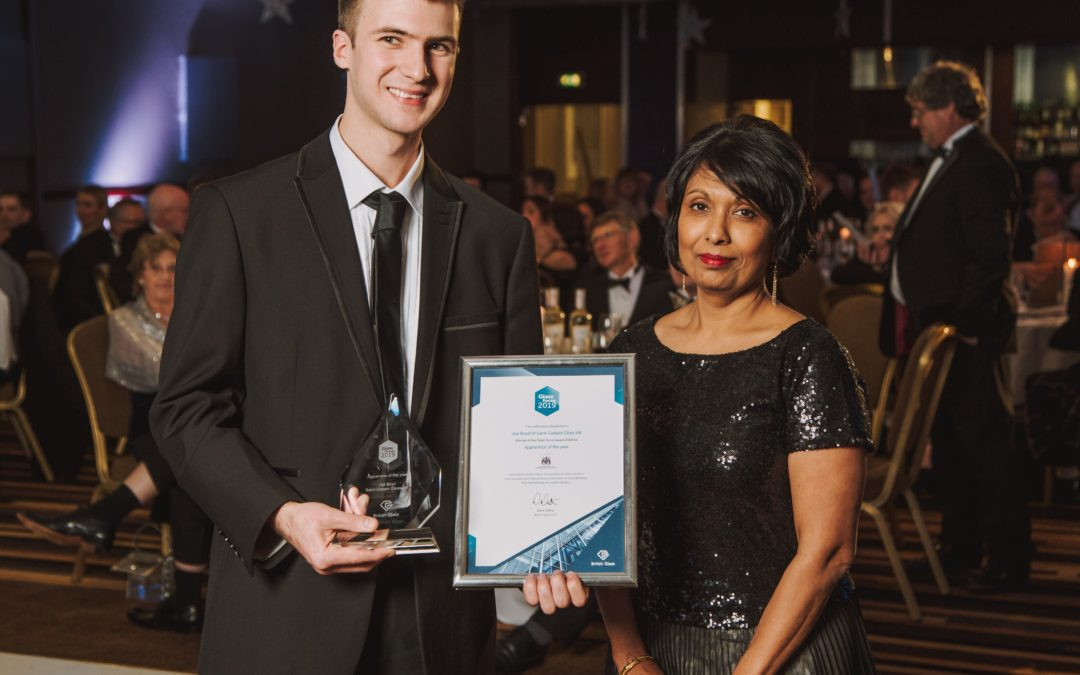Interview with Joe Boyd – Glass Sellers' Apprentice of the Year 2019