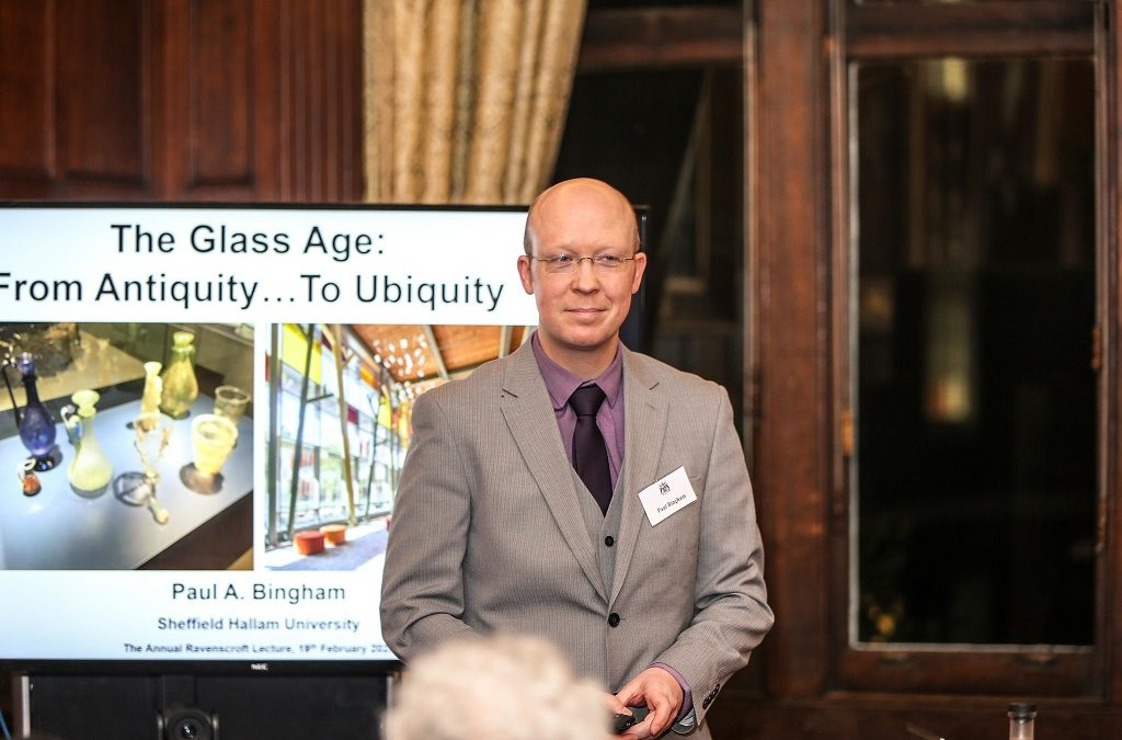 """Annual Ravenscroft Lecture 2020 : """"The Glass Age – from Antiquity to Ubiquity"""""""