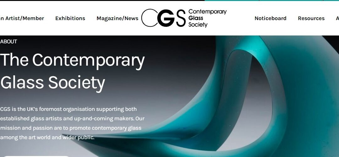 Contemporary Glass Society at 25 years old